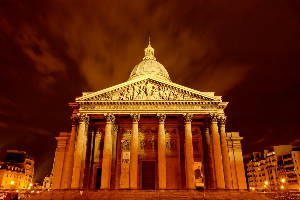 Panthéon at night - Panthéon