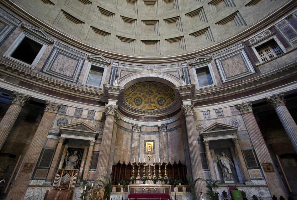 Temple of All the Martyrs in Rome - Pantheon Rome