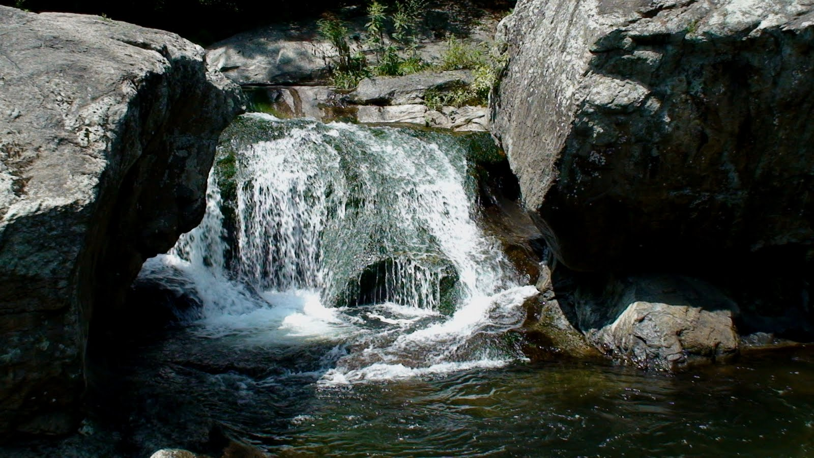 panther falls - waterfall in canada