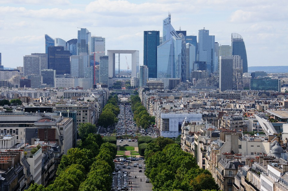Paris Central Business District - Paris