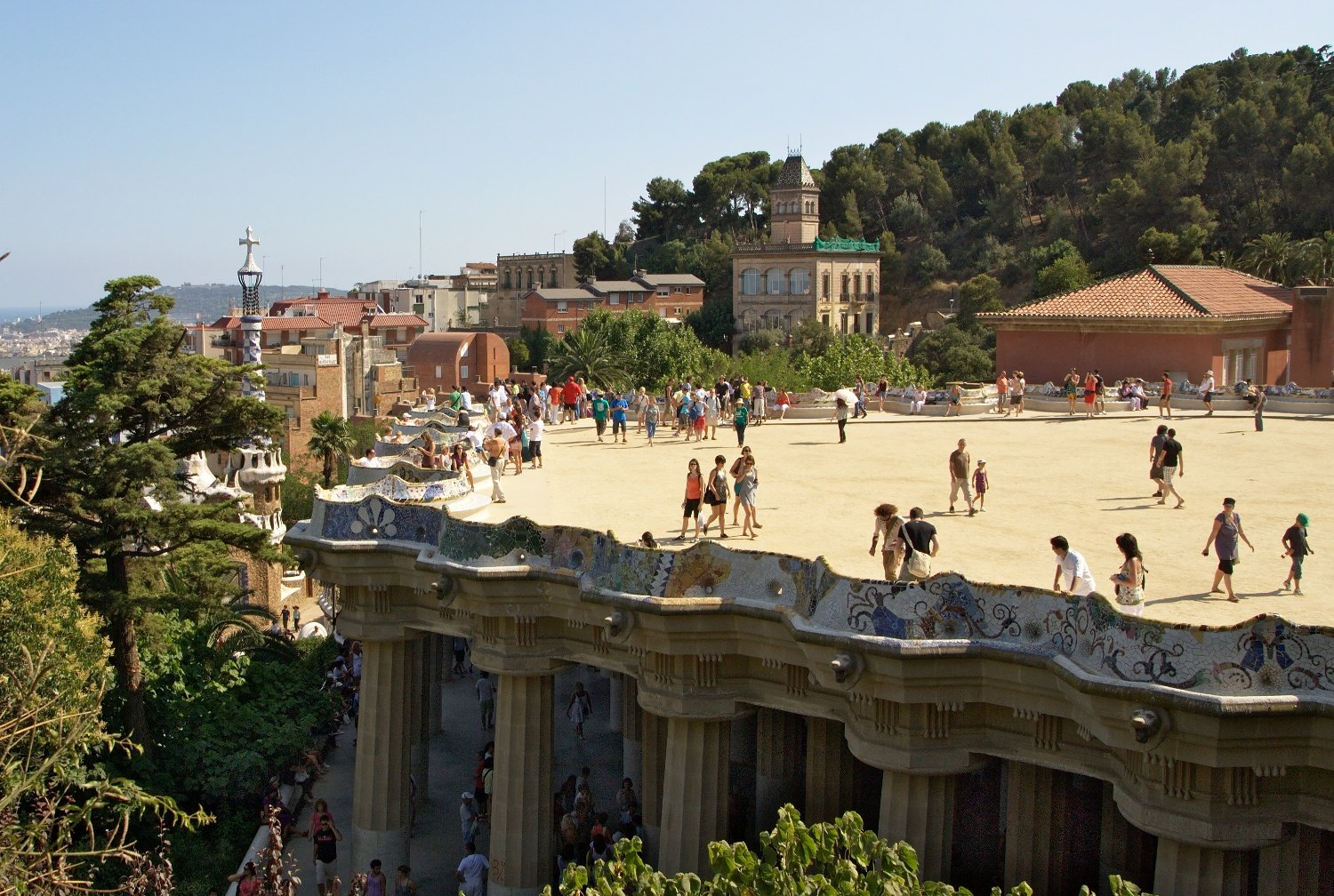 Park Güell - Urban Park in Barcelona - Thousand Wonders