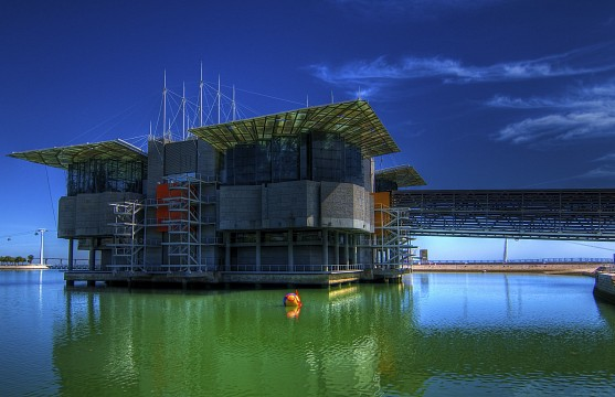 Oceanarium in Lisbon, Portugal - Park of the Nations