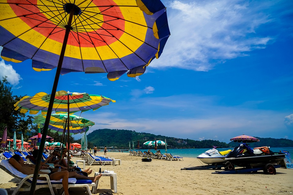 lovely summer - Sony A7R - Patong Beach