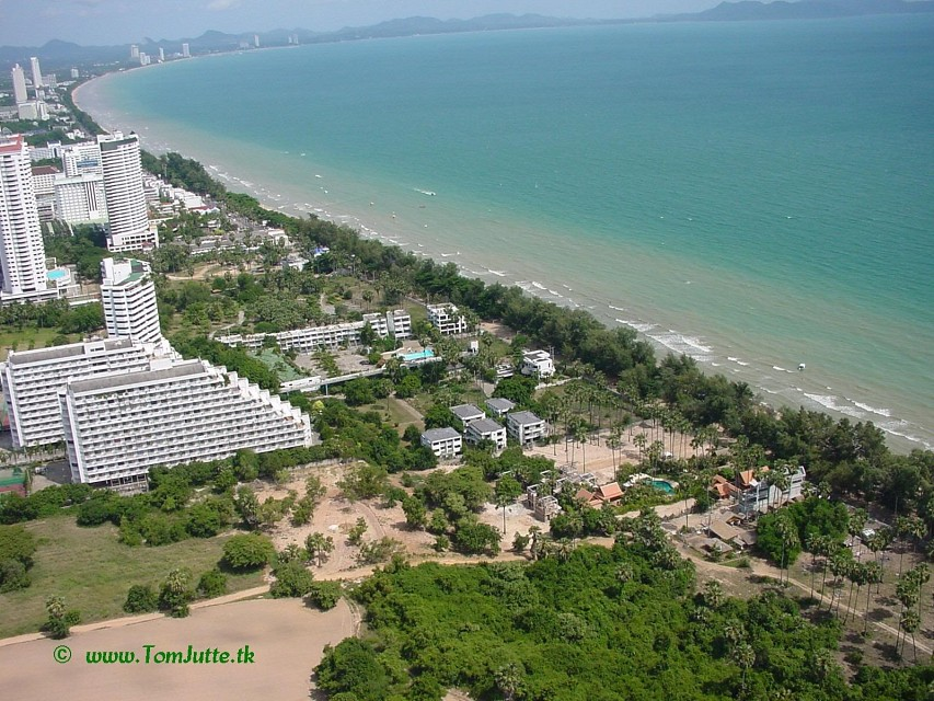 Jomtien Beach, Pattaya Tower, Chon Buri, Thailand - 3059 - Pattaya