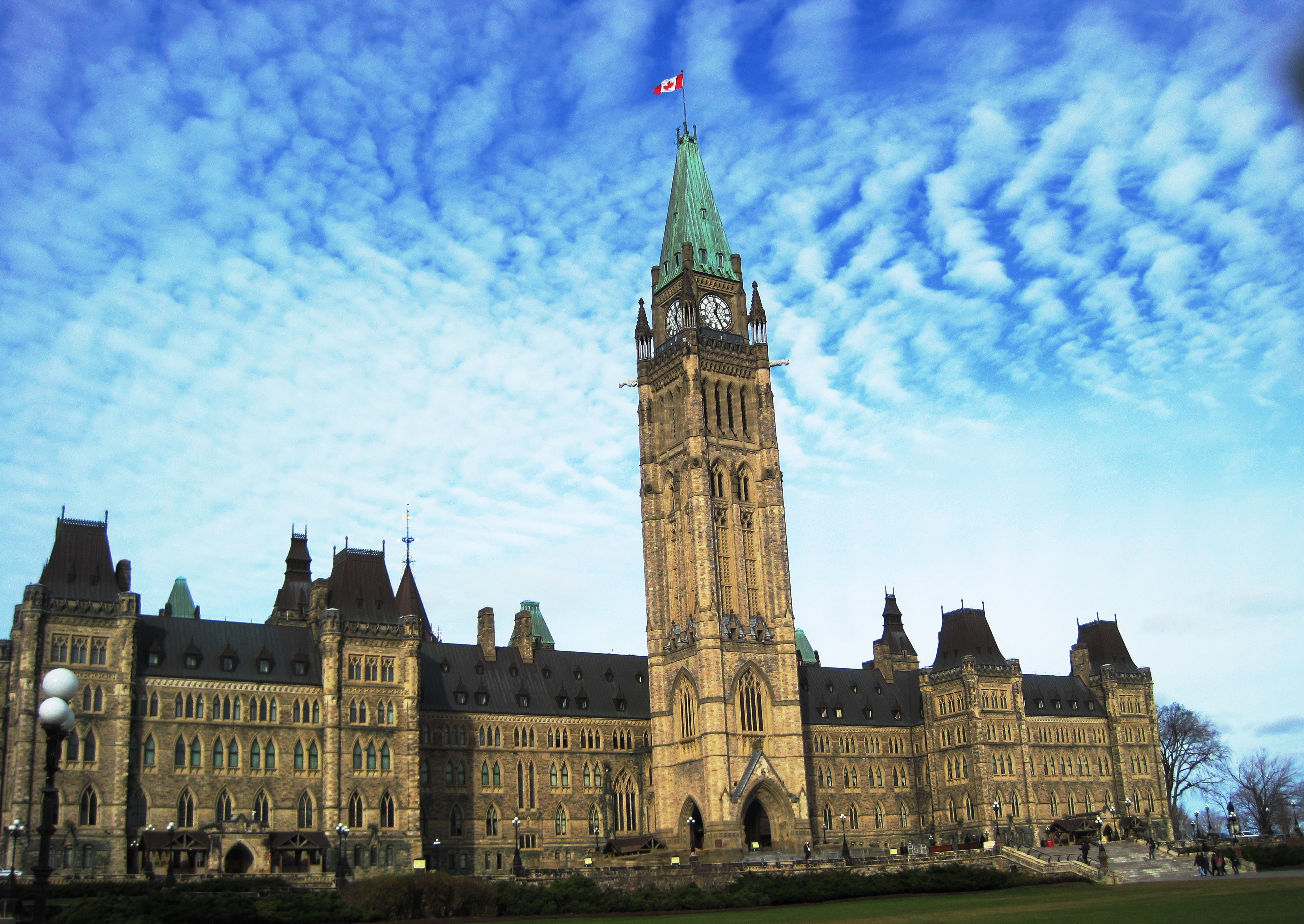 Peace Tower - Tower In Ottawa