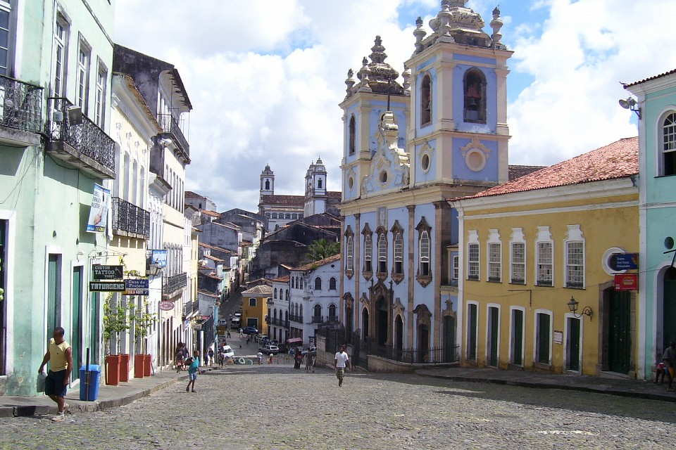 Pelourinho, Salvador's Historic Centre - Salvador, Brazil - Pelourinho