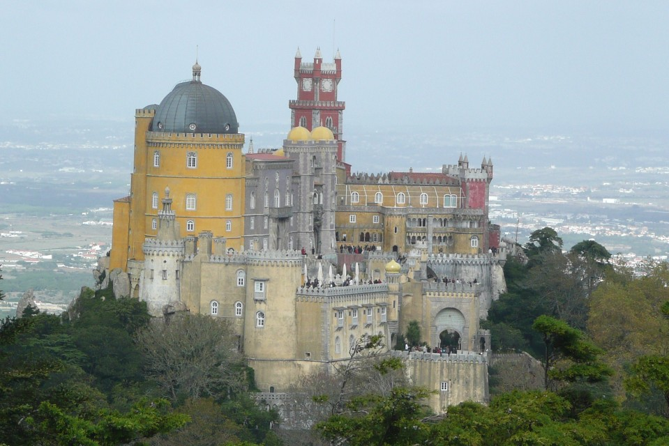 Pena National Castle, Sintra - Pena National Palace