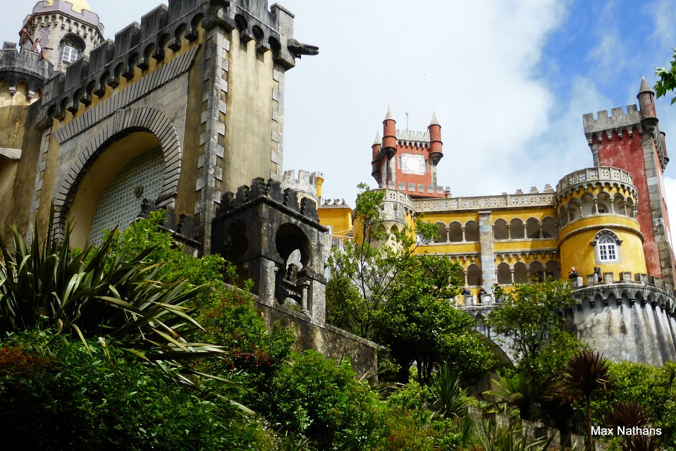 Pena National palace Sintra ,Portugal - Pena National Palace
