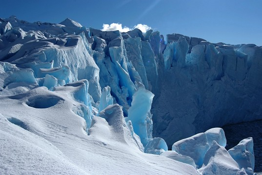 Escatology of blue - Perito Moreno