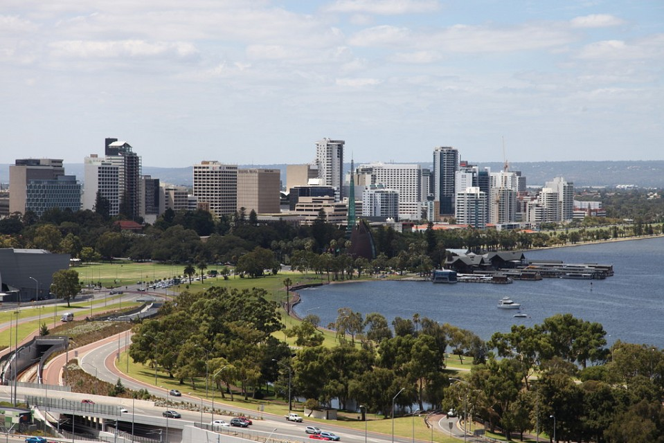 Perth skyline from Kings Park 2 - Perth
