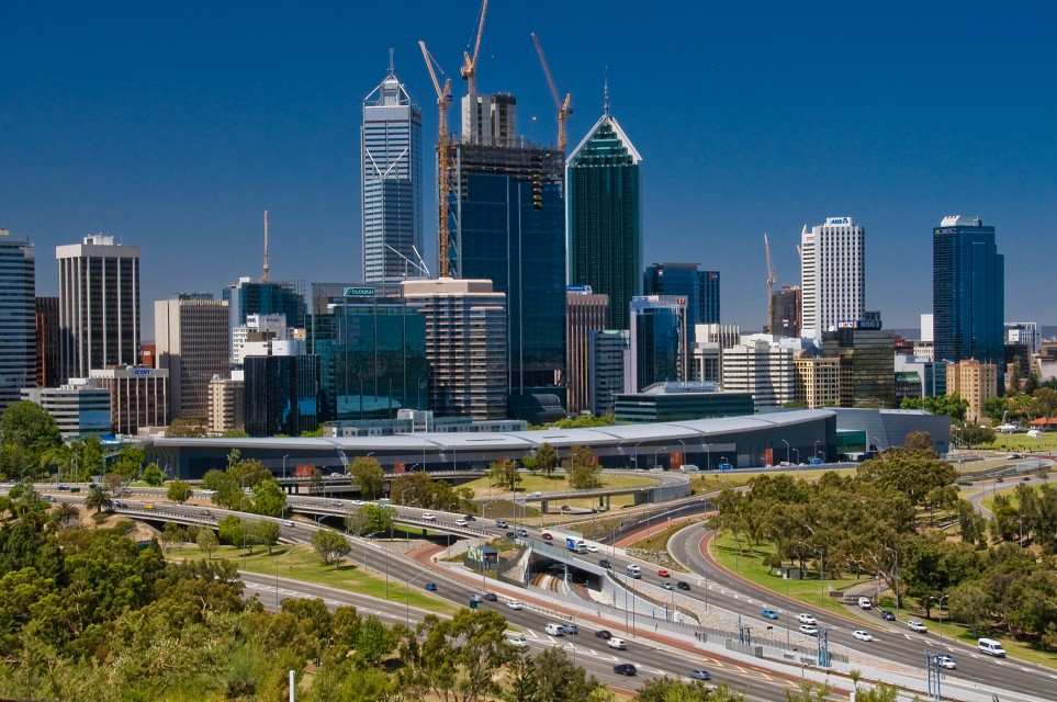 View of Perth from Kings Park-1 - Perth