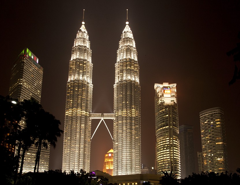 Petronas Towers as seen from Traders Hotel - Petronas Towers
