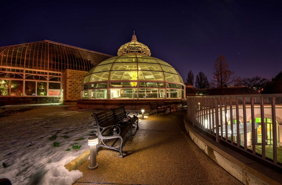 Phipps Dome - Phipps Conservatory and Botanical Gardens