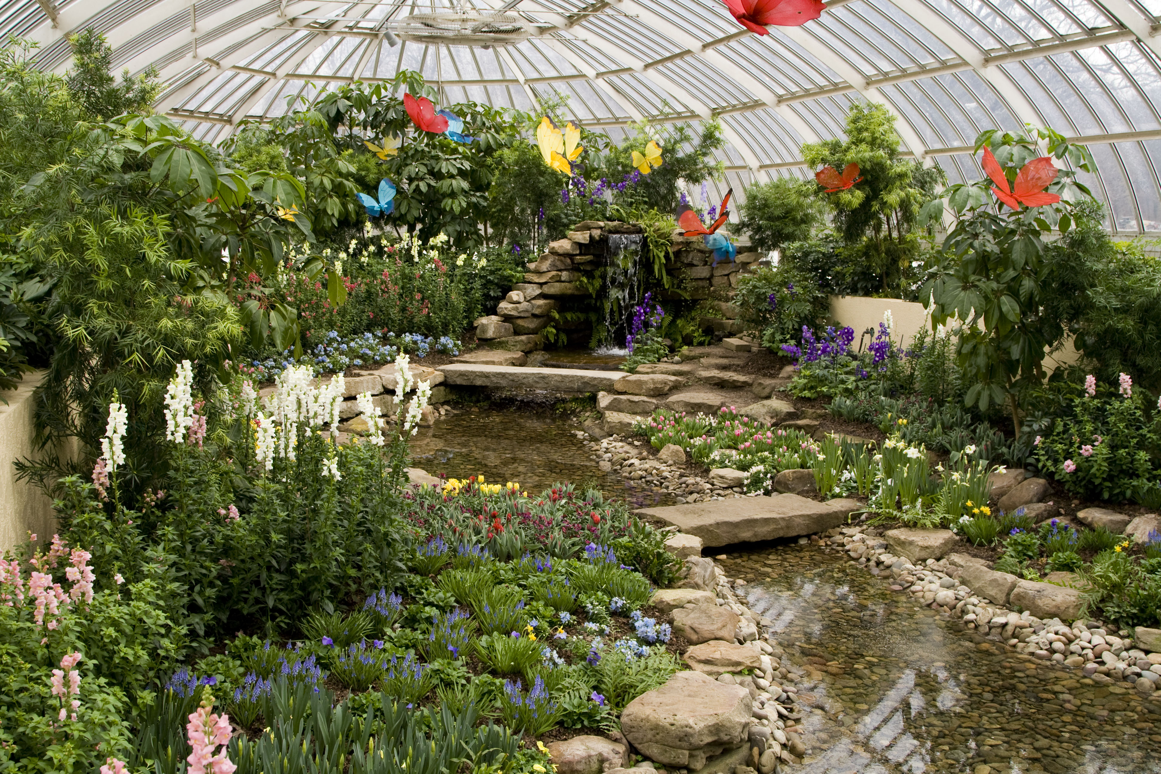 Phipps Conservatory And Botanical Gardens Botanic Garden In Pittsburgh Thousand Wonders