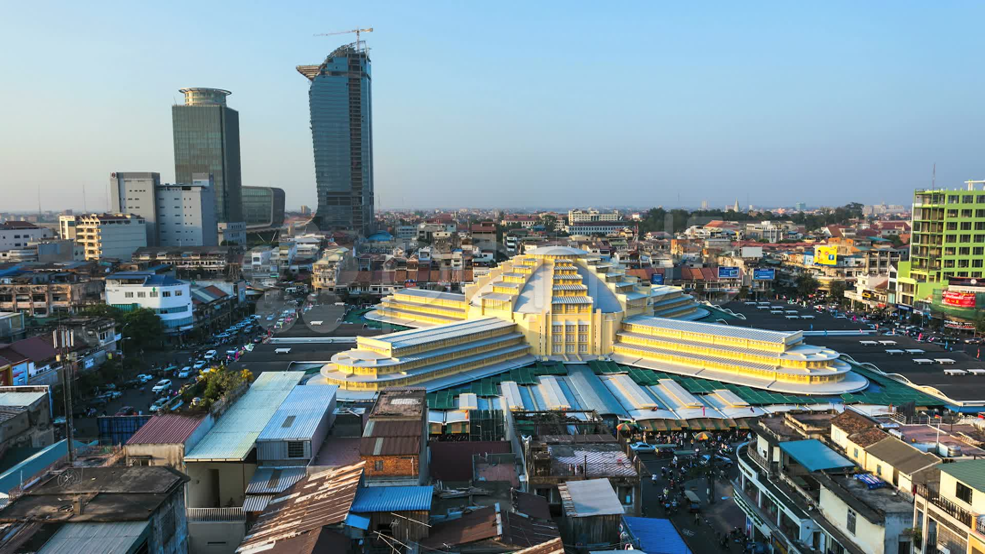Phnom penh city in cambodia sightseeing and landmarks thousand