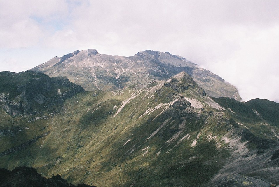 The Crater from the Summit - Pichincha