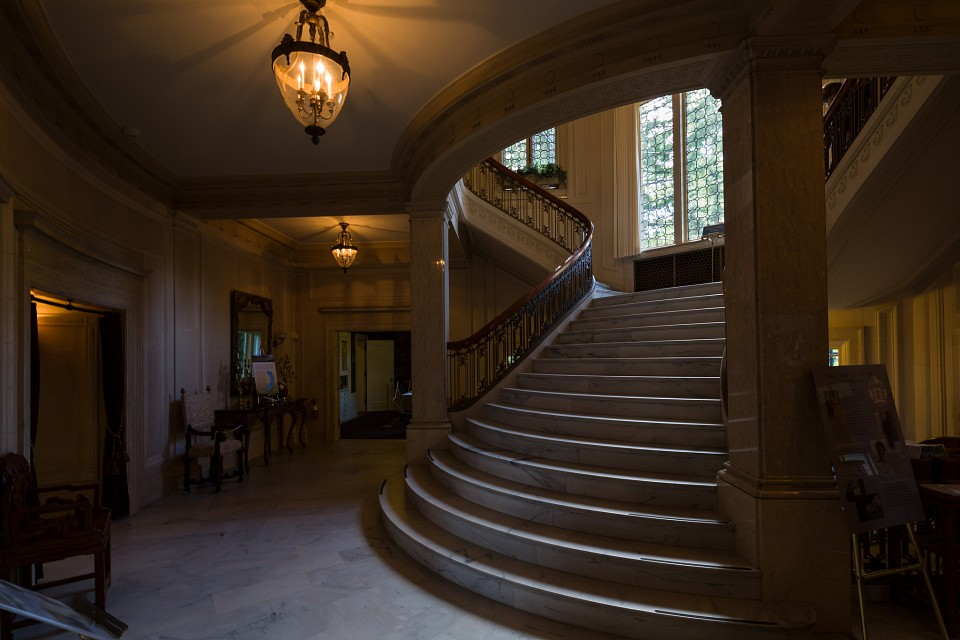 Stairs Up - Pittock Mansion