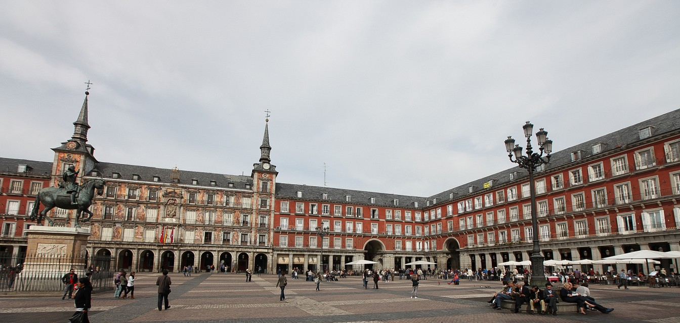 Madrid, Spain - Plaza