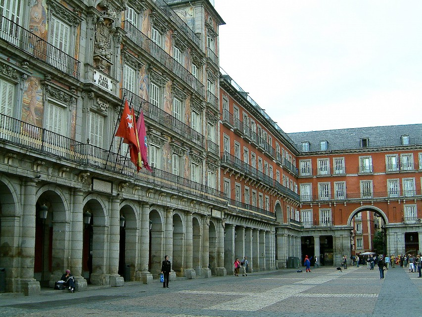 Plaza Mayor Madrid (6) - Plaza