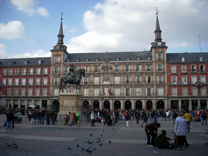 Plaza Mayor, Madrid - Plaza
