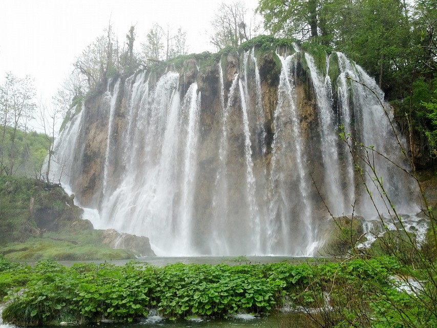 Waterfall - Plitvice Lakes National Park