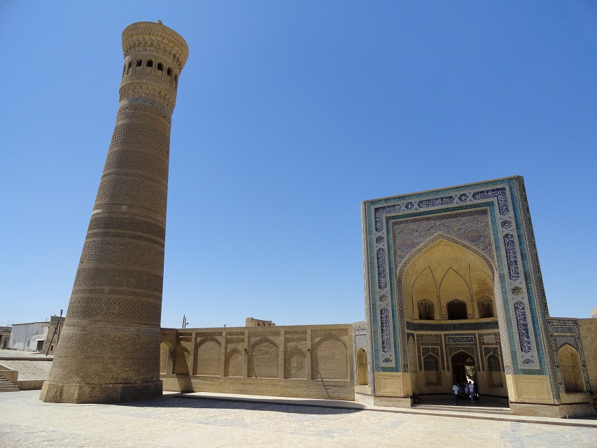 Mosque and Minaret Kalon, Buchara, Uzbekistan - Po-i-Kalyan