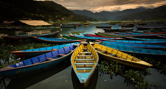 Boats in