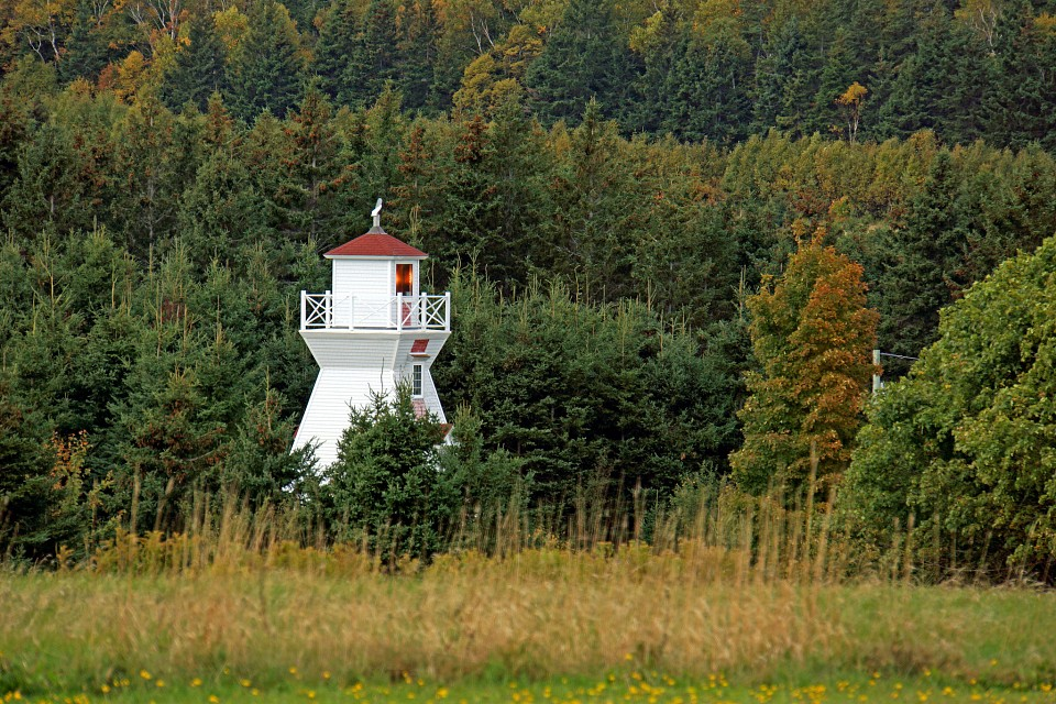 PEI-00488 - Warren Cove Back Range Lighthouse - Port-la-Joye–Fort Amherst