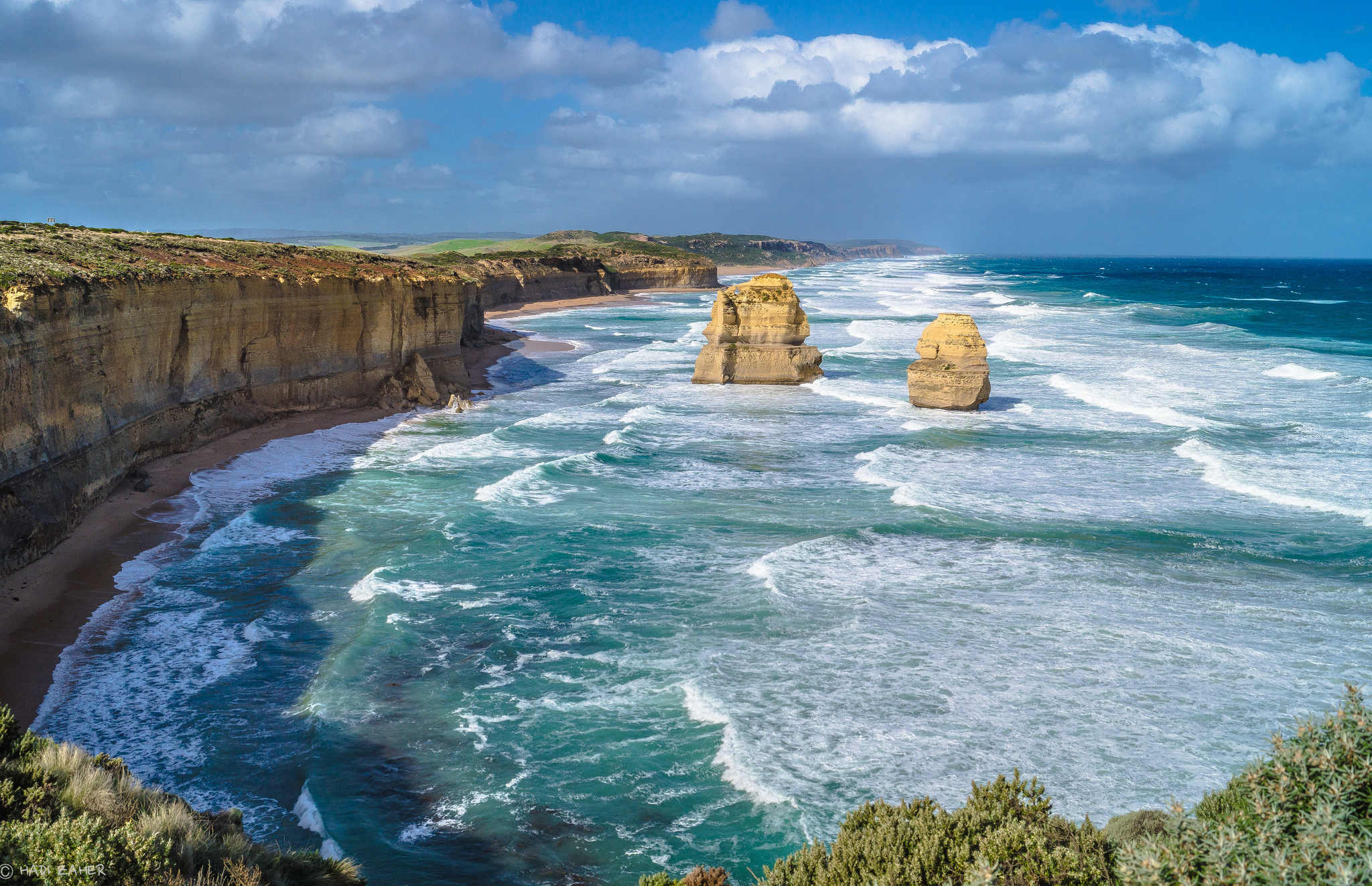 Earth and Water | The 12 Apostles | Port Campbell National Park