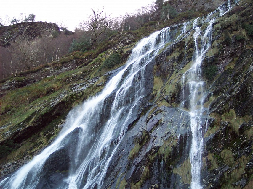 Powerscourt Waterfall - Powerscourt Waterfall