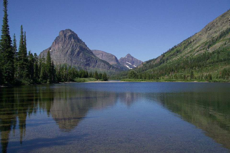 Pray Lake and Sinophah Mtn - Pray Lake