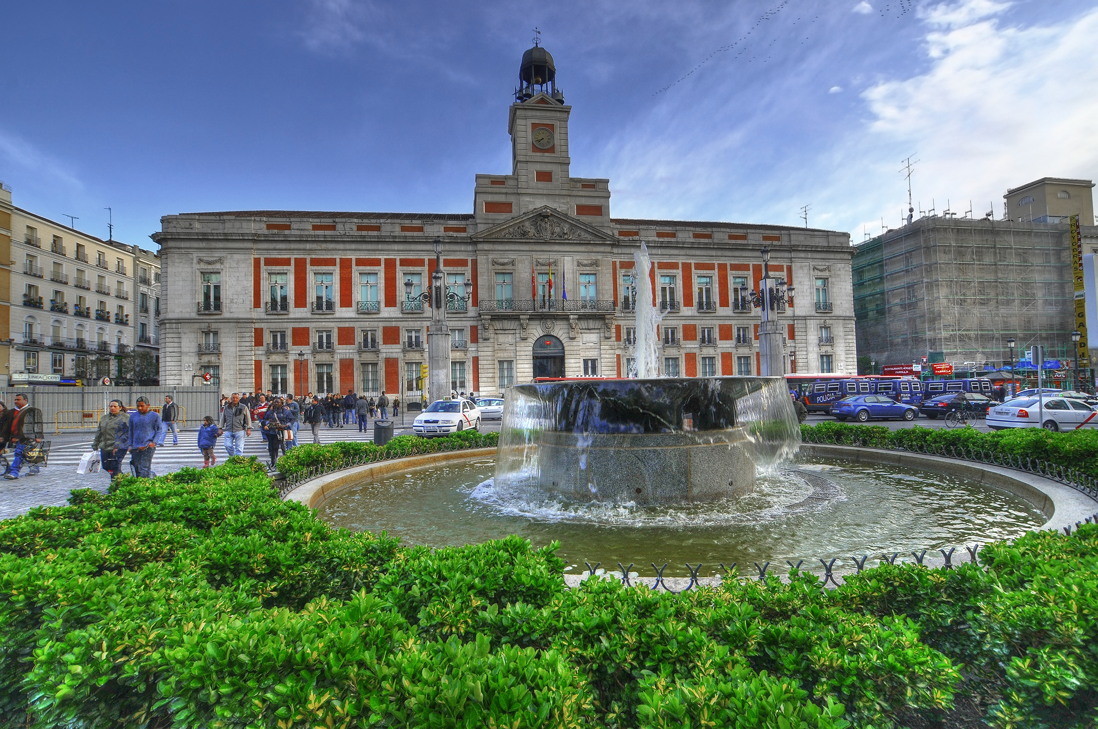 Puerta Del Sol Plaza In Madrid Thousand Wonders
