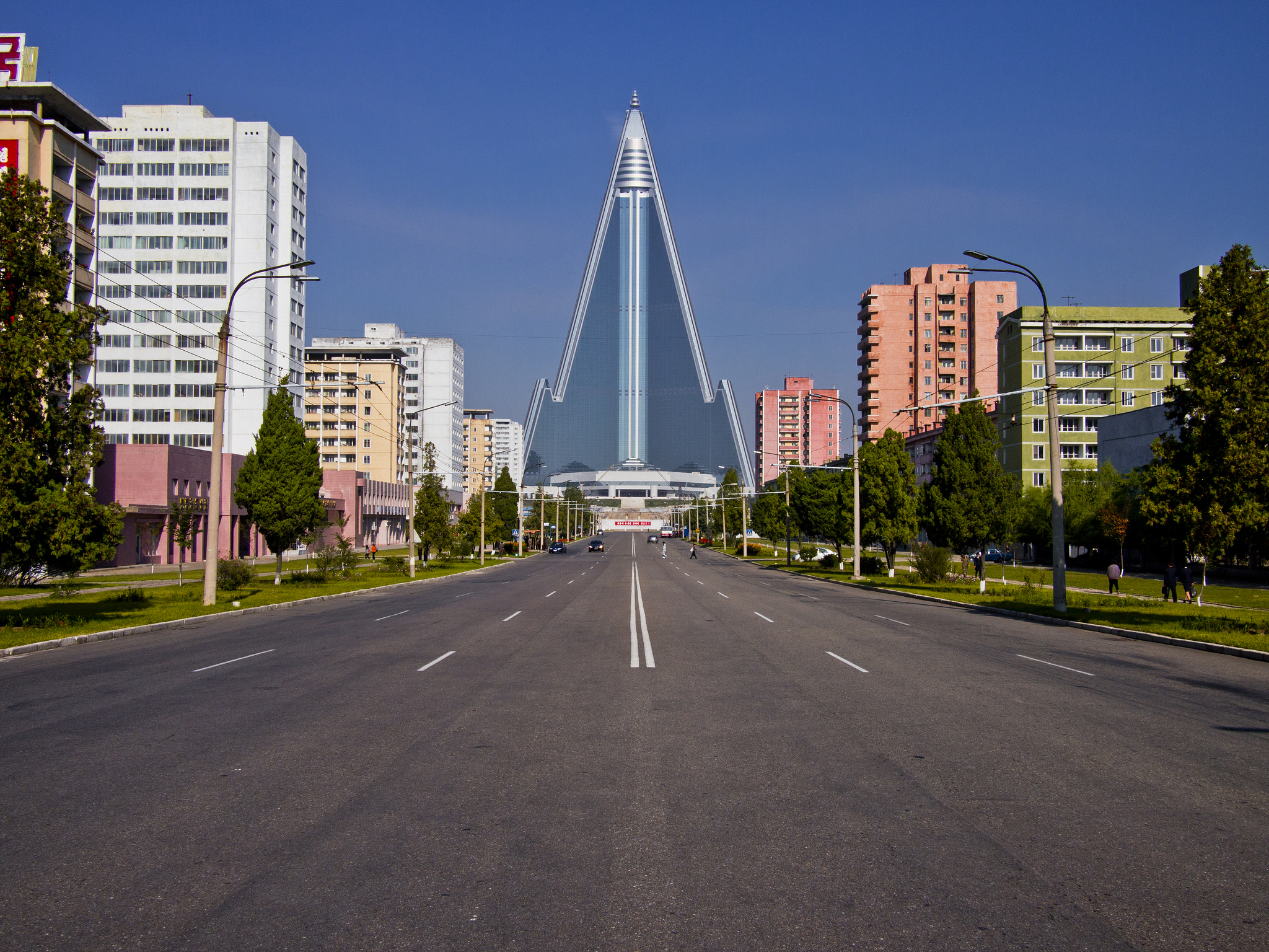 Pyongyang City In North Korea Sightseeing And