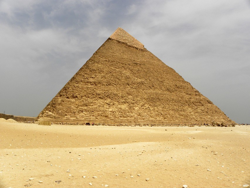 Pyramid of Khafre - Pyramid of Khafre