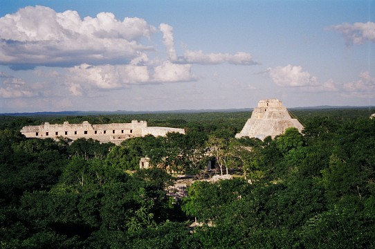 Uxmal - Nunnary Quadrangle &