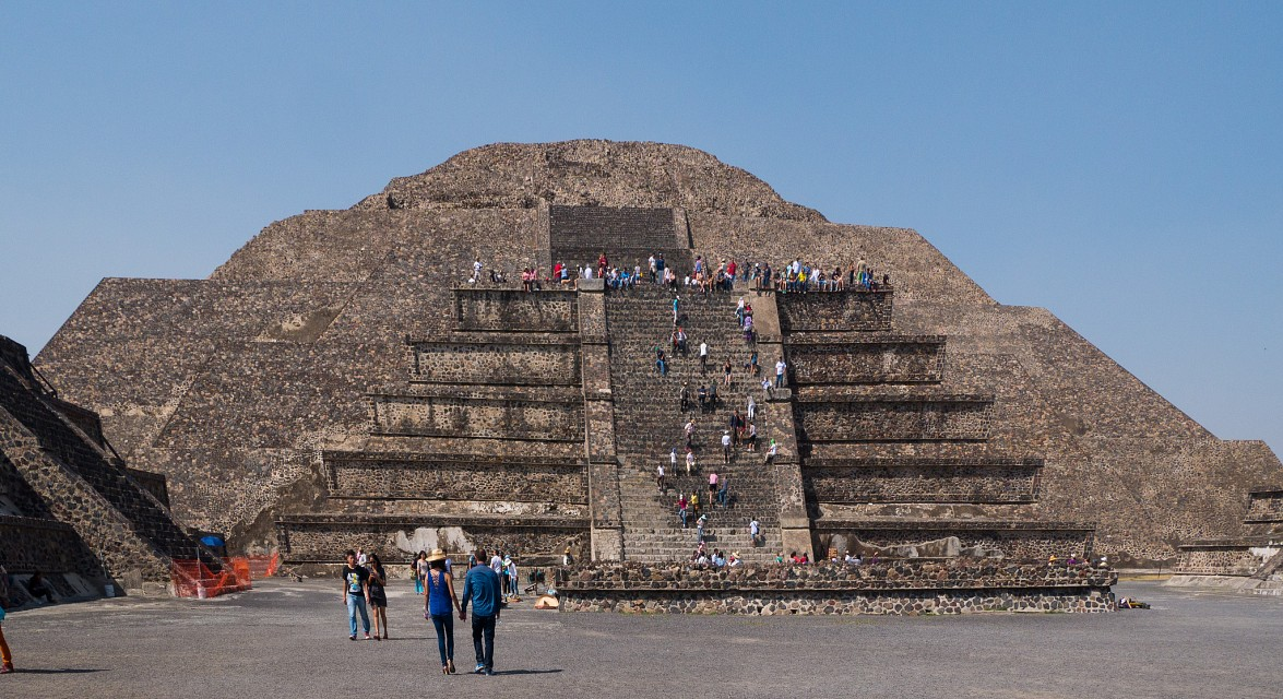 Pyramid of the Moon - Teotihuacan - Pyramid of the Moon
