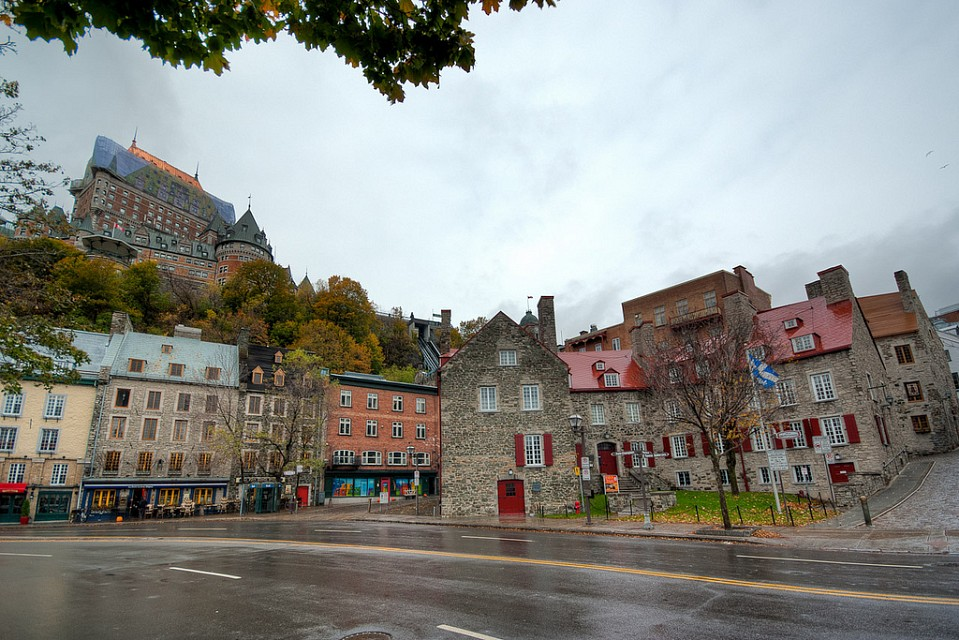 From the Riverfront - Quebec City