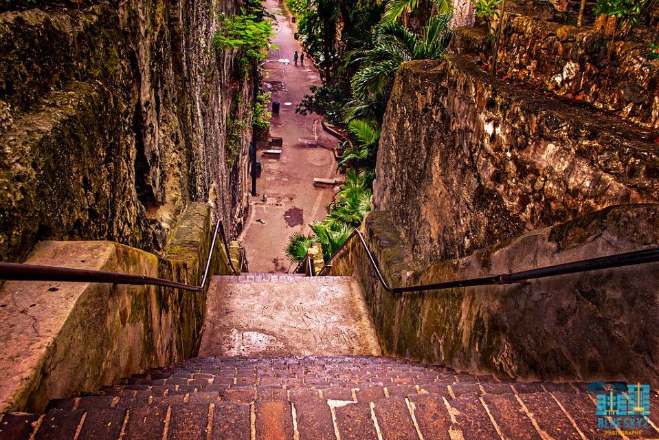Queen's Staircase in Nassau, The Bahamas - Queen's Staircase