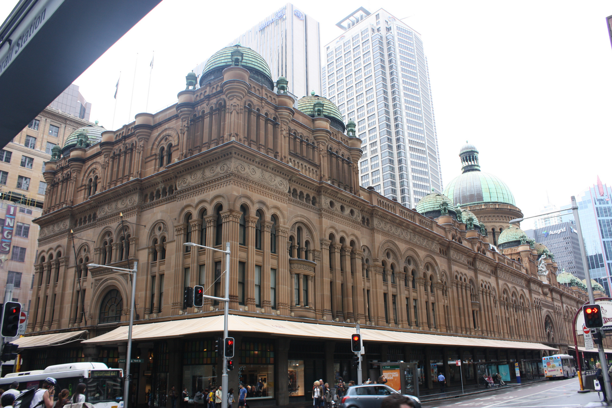 Queen Victoria Building Shopping Mall In Sydney