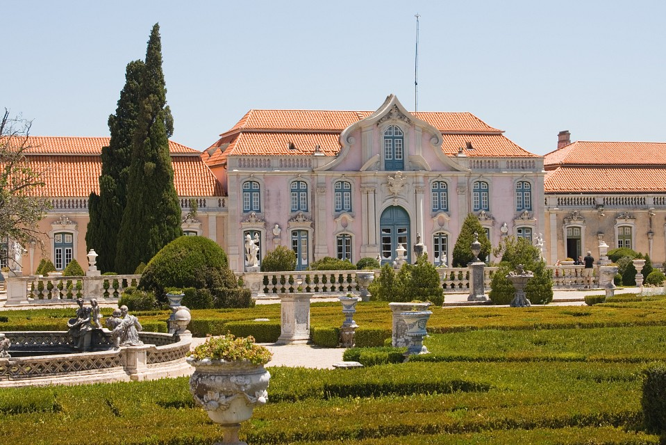 Jardines Palacio Queluz 2 - Queluz National Palace