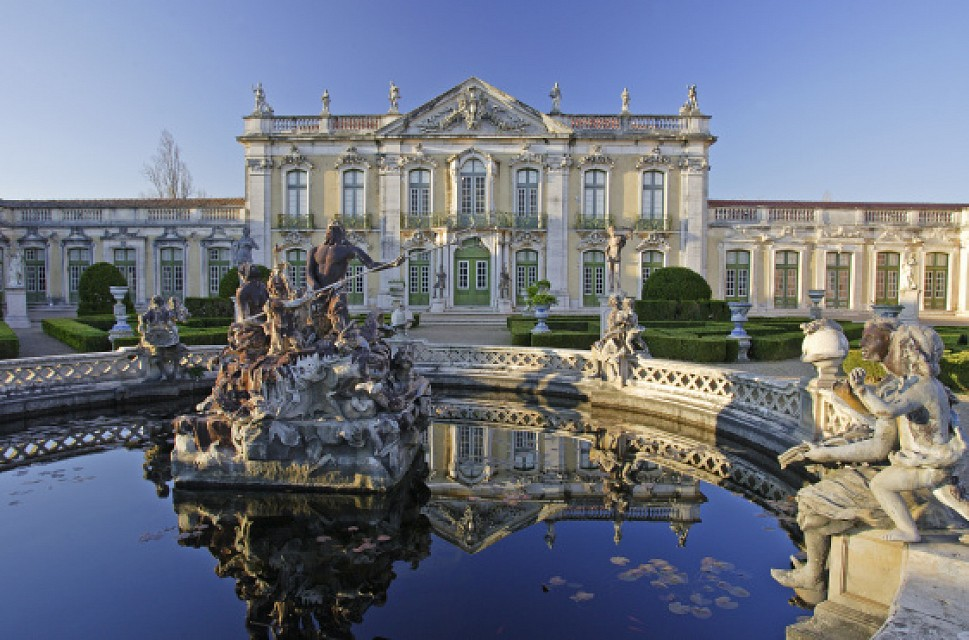 Queluz National Palace. Palace in Lisbon, Portugal