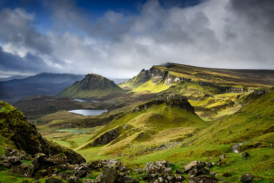 Blue is coming in Quiraing - Quiraing