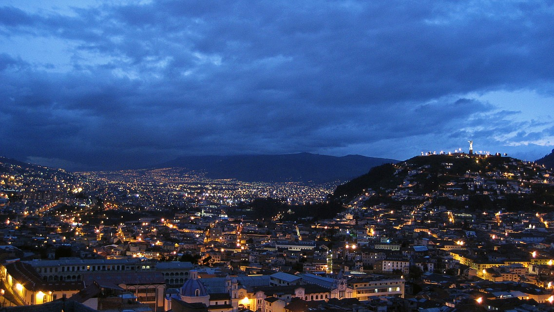 And when I go there, I go there with you... - Quito