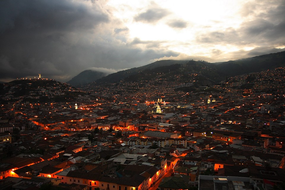 Quito s'illumine - Quito