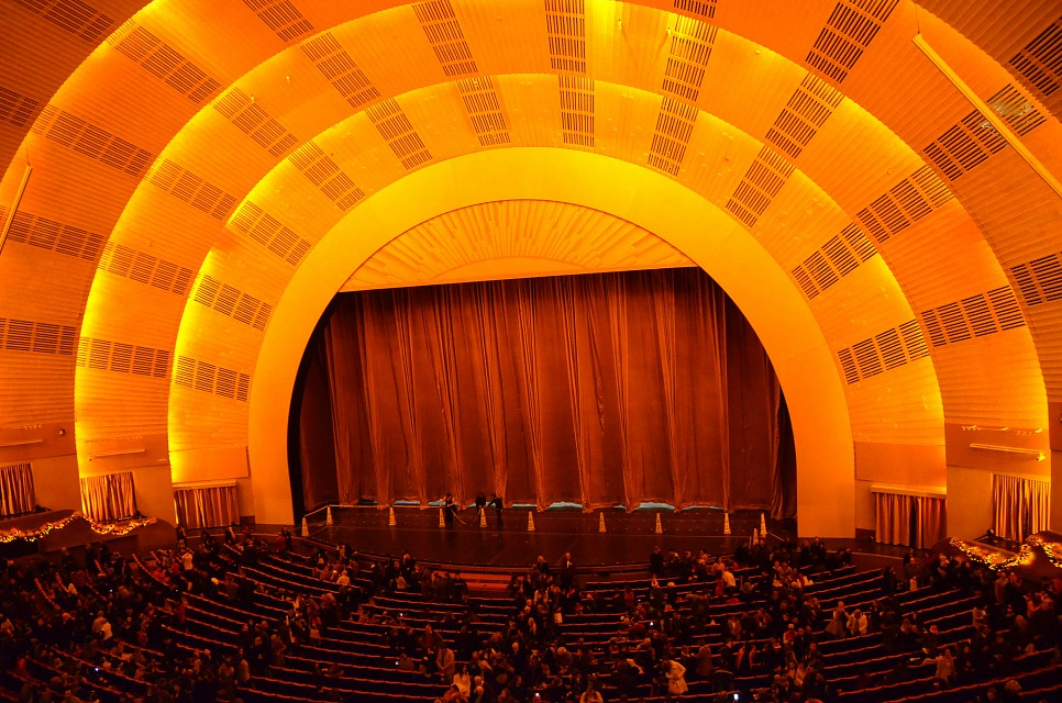 Radio City stage - Radio City Music Hall