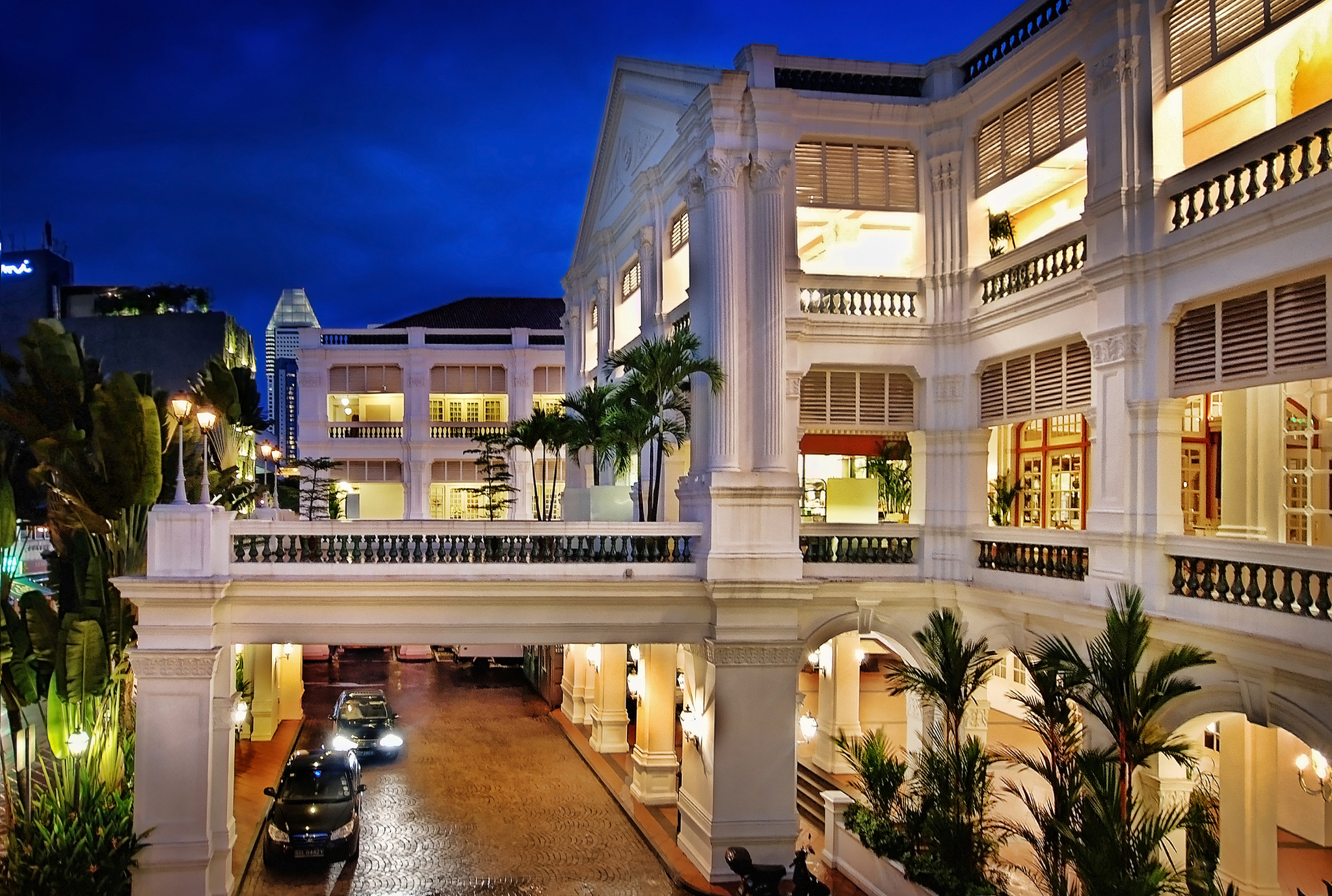 Raffles Hotel Hotel In Singapore Thousand Wonders