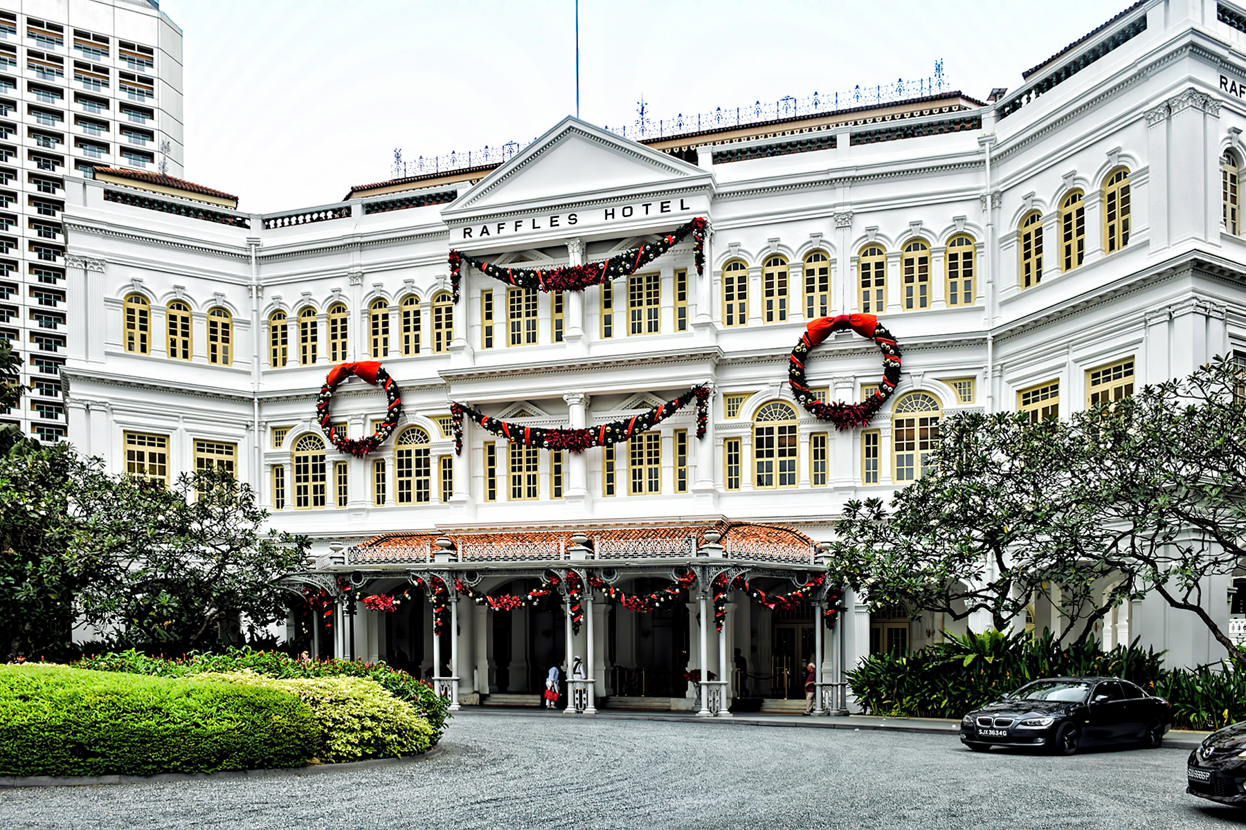 Raffles hotel hotel in singapore thousand wonders for Hotel original