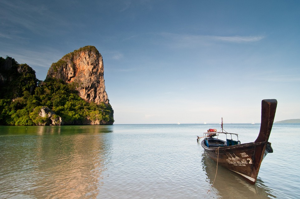 Railay Beach at Sunrise - Railay Beach