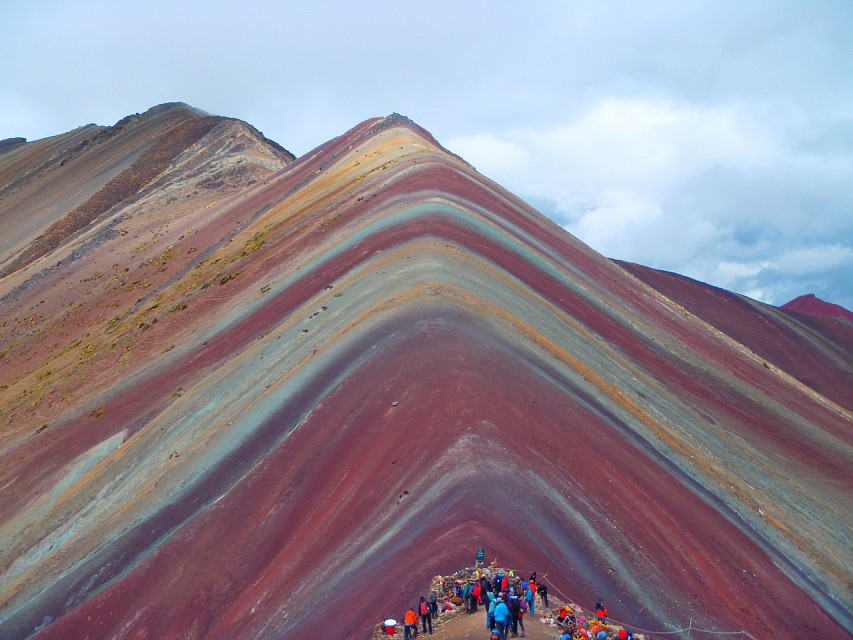 #Earth Rainbow Mountain, Peru [4288x3216] [OC] - Rainbow Mountains