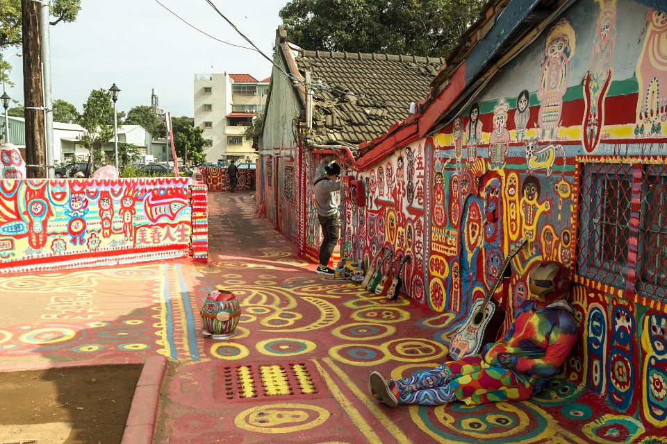 Down and out in the rainbow village - Rainbow Village